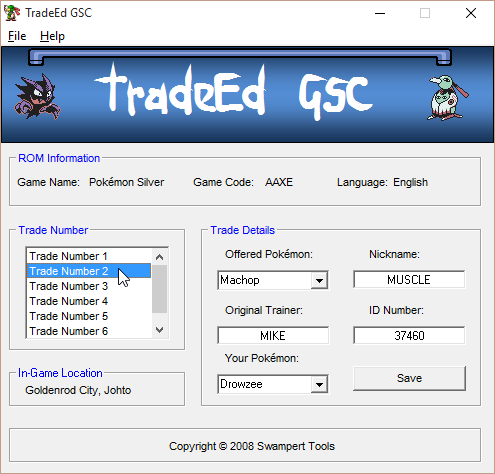 TradeED GSC – Hack Rom Tools